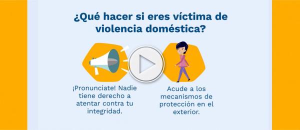 El Consulado en Ankara ofrece asistencia a colombianas en Turquía que están siendo víctimas de violencia doméstica. Estamos #DeTuParte